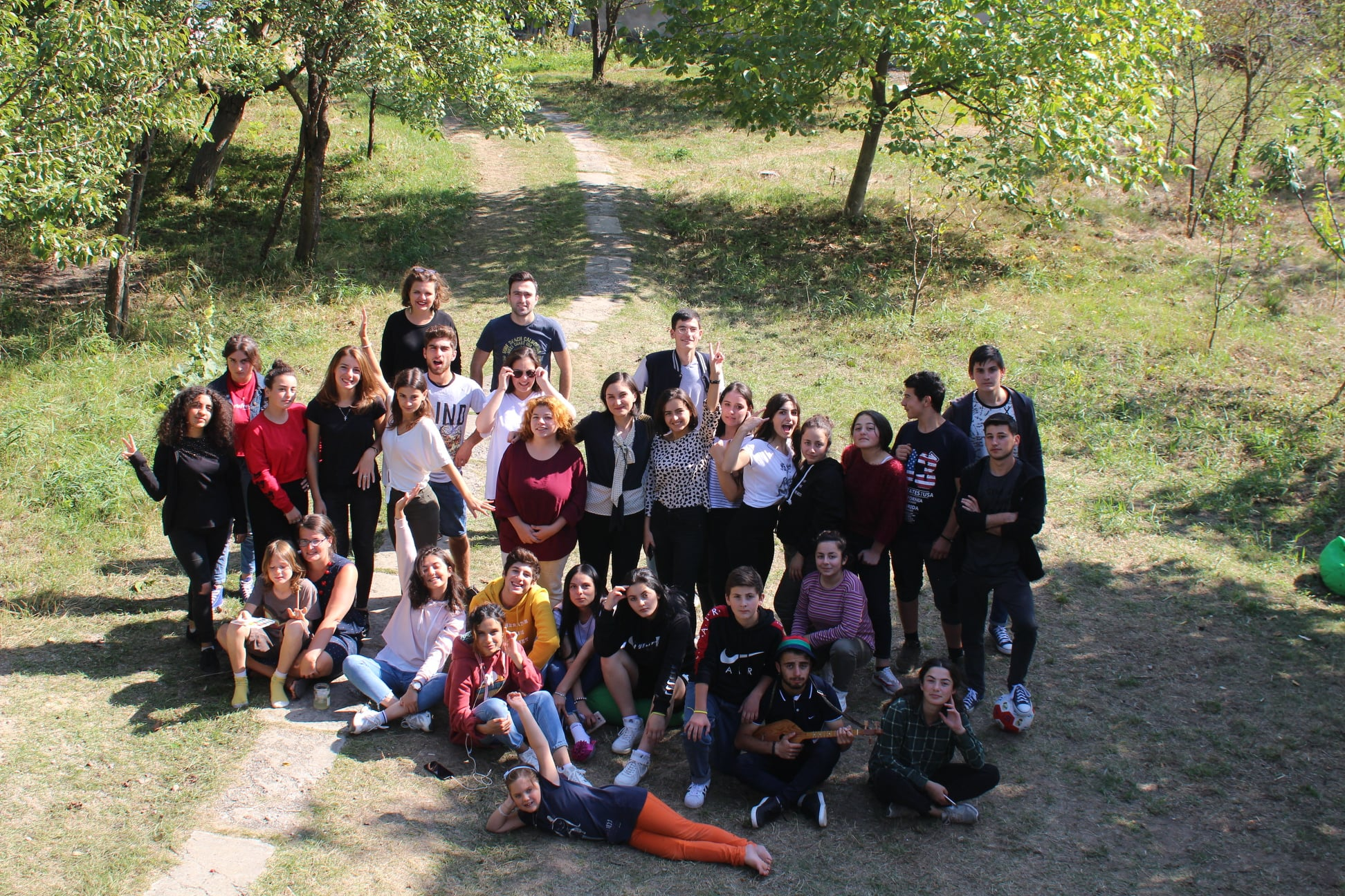 Be INvolved - supporting youth participation in local initiatives in Georgia